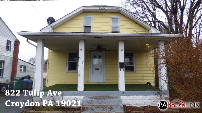 822 Tulip Ave Croydon PA 19021 – Foreclosure Properties Croydon PA 19021 (Cleaned out)